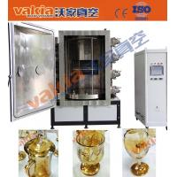 Quality Gold Color Glass Cups Vacuum PVD Plating Machine on Crystal wholesale
