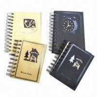 China Notebooks with CMYK Printing, Measures 15 x 21cm, OEM and ODM Orders are Welcome, Weighs 80gsm wholesale