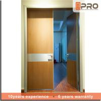 China Break Resistance MDF Interior Doors Eco Friendly With Handles And Hinge wholesale
