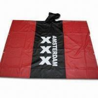 China Rain Poncho, Waterproof, Made of PVC, Customized Logos are Accepted wholesale