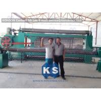 Quality Galvanized Gabion Production Line With Accurate Mesh With PLC Control System wholesale