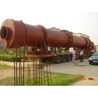 China Steel Screw Conveyor Rotary Drum Dryer Coating Wood Powder With Energy Saving wholesale