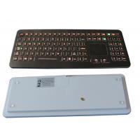 Buy cheap Professional IP68 Medical Backlit Keyboard with Flat Keys and Sealed Touchpad from wholesalers