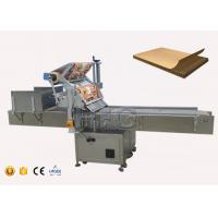 Quality Automatic fertilizer bag flat surface label applicator with paging machine for sale