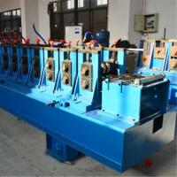 China Hydraulic Punching Cable Tray Roll Forming Machine , Rolling Form Machine Cr12mov wholesale