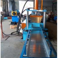China Easy Operation Trench Cable Tray Roll Forming Machine 22KW 200MM Width SGS wholesale