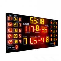 China Customized Luxury Multi LED Basketball Scoreboard For Basketball Sporting wholesale