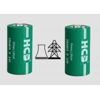 Buy cheap Primary 22000mAh Spiral 3V Mno2 Lithium Ion Battery , Cylindrical Cell For Oil from wholesalers