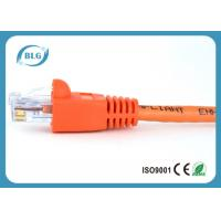 China 1M 2M 3M Cat5e UTP Network Patch Cable Fire Protection With Colorful RJ45 Plug Boots wholesale