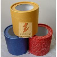 China Custom Recycled Paper Tube Box Container , Cosmetic Tube Packaging wholesale