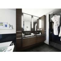 China Five Star Hotel Illuminated Frameless Double Sided Mirror TV For Advertising wholesale
