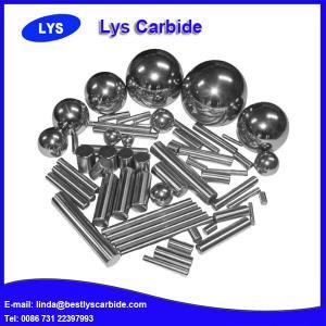 China Solid tungsten carbide rods with gound / unground wholesale