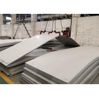 China Hot Rolled 304 Stainless Steel Sheet Hairline Surface 0.3-4.5mm Thickness wholesale