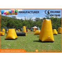 Buy cheap Durable Inflatable Paintball Games / Air Up Bunkers Customized from wholesalers