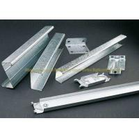 China Zinc Coating Galvanised Square Tube Galvanized Steel C Shape Purlin on sale
