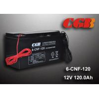 China 12V 120AH Non Spillable Valve Regulated Sealed Lead Acid Battery Rechargeble Waterproof Cable wholesale