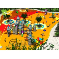 China Public Park Project Child Toy Big Slide Equipment Kids Outdoor Playground Equipment wholesale