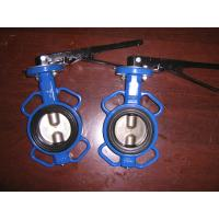 Quality Universal Flange Wafer cast iron body Butterfly valve handle or gear operated for sale