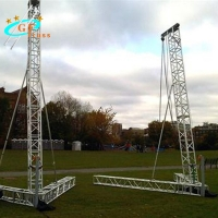 China Aluminum 6061-T6 Line Array Truss For Hanging Speakers wholesale