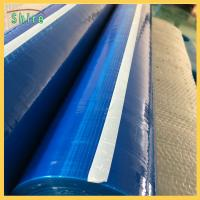 """Buy cheap 36"""" X 200"""" Duct Protection Film Blue Self - Adhesive Duct Protection Film from wholesalers"""