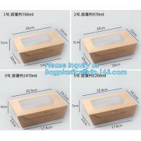 Custom Wholesale Recyclable Packaging Food Kraft Paper Lunch Corrugated Box