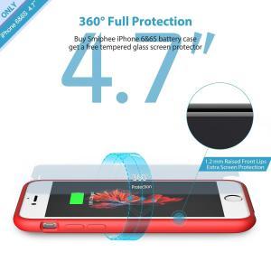 China Fashionable Charging Iphone 7 Protective Battery Case Customization Logo wholesale