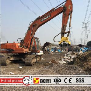 China BEIYI Heavy equipment hydraulic excavator compactor hydraulic palte compactor for excavator wholesale