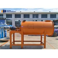 China Footprint Floor Screed Dry Mortar Mixer Machine For Wall Putty , Powder Material wholesale