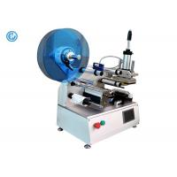 Semi Automatic Cable Labeling Machine , Stainless Steel Wire Labeling System