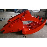 Quality Heavy Duty Doosan 500 Excavator Grapple , Mechanical Grapple 2400kg wholesale