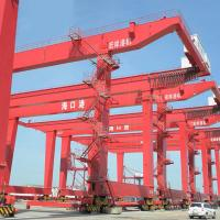 Buy cheap Quay Gantry Crane For Lifting Containers Drawing On Seaport 30.5 - 40.5T from wholesalers