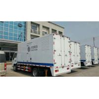 China Water Closed Cooling 80KW  Truck Mounted Generator Sets With High Temperature Radiator wholesale