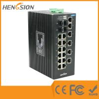 Unmanaged EIB28-18E-4G Industrial Ethernet Switches 1000Base-X SFP Port