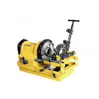 China Heavy Duty Switch Compact Electric Pipe Threading Machine 24 /10 RPM wholesale