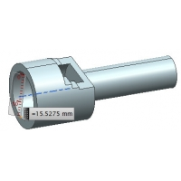 China ISO5356-1-15mm Gauge For Testing Anaesthetic And Respiratory Equipment wholesale