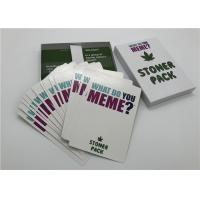 China Funny Adult Family Games What Do You MEME Expansion Pack Paper Material wholesale