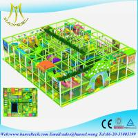 China Hansel preschool indoor play equipment  kids party equipment  kids plastic playhouse  indoor playground equipment canada on sale