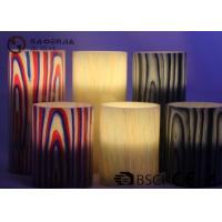 China Multi Color Real Wax Flameless Candles Set Of 2 For Home Decoration wholesale