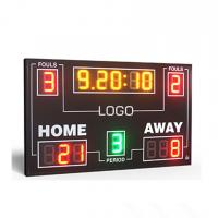 China IP65 Electronic Led Basketball Scoreboard With 8 Inch Digit In RGY Color wholesale