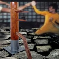 Quality Wood logs Senior  wing tsun kung fu Easy operation for sale