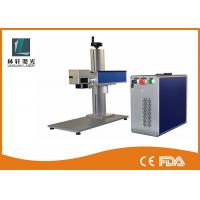 China High precision low cost 10w 20w 30w 50w Fiber Laser Marking Machine/system For China factory supply wholesale
