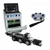 China CCTV Sewer Pipe Inspection Equipment Mini Crawler System For 150mm Pipe wholesale