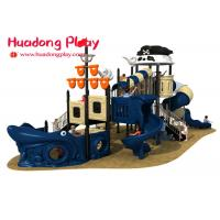 China Small Pirates Ship Theme Children ' S Outdoor Playground Equipment For Kids wholesale