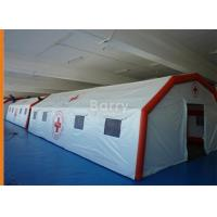 China Attractive Reusable Giant Air-Saeled Inflatable Tent For Emergency on sale