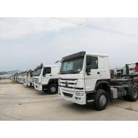 China 420HP 6X4 Howo Tractor Trailer Truck With HW19710 Transmission And HW76 Cab on sale