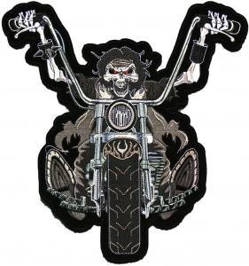China 3 Dimensional Womens Motorcycle Biker Patch wholesale