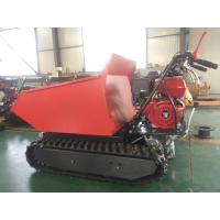 China ED300C Gasoline Easy work agricultural crawler tracked dumper mini for sale wholesale