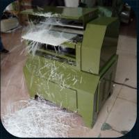 China 640mm width plastic planing machine for PP, PE, nylon,Seesaw, used rubber sheet wholesale