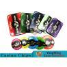China 760pcs Acrylic Premium Bronzing Casino Poker Chip Set For Entertainment wholesale