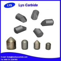 China Cemented carbide buttons & inserts for mining tools S types Spoon button wholesale
